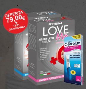 Fertilina LoveMe, effetti collaterali, controindicazioni