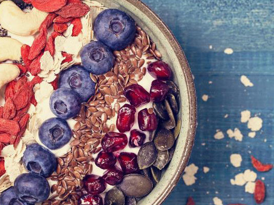 I fatti nutrizionali di bacche di Goji